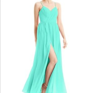 "Azazie Cora ""Spa"" bridesmaids dress"